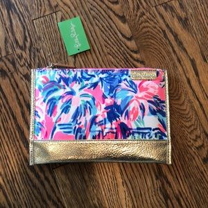 Brand new with tags Lilly clutch!